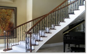 custom iron stair railings pics_32