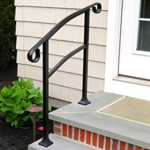 metal handrails for concrete steps_7