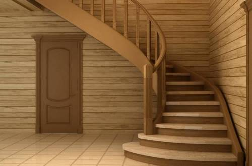 Decorative finishing of staircases