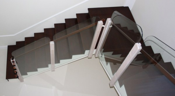 Interesting winding staircase
