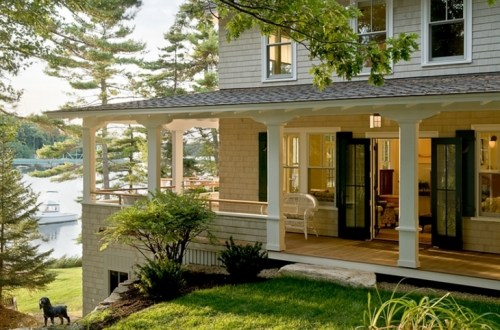 Tips for decorating the porch