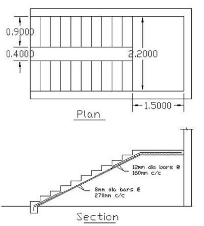 concrete staircase design example_9