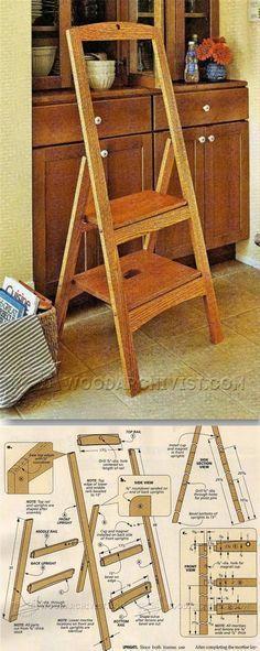 handmade house ladder pythagorean_9