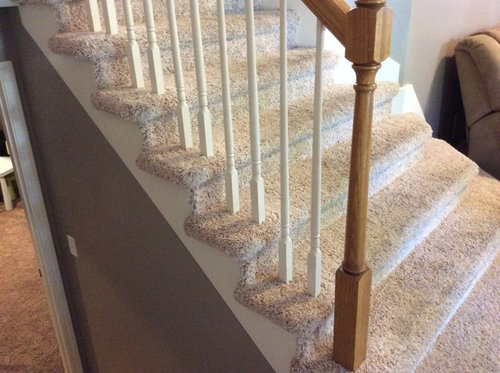 how to install balusters on carpeted stairs_23