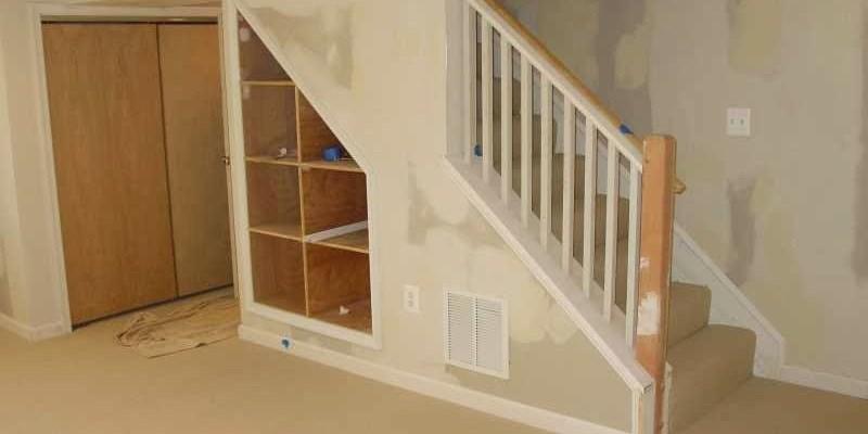 DIY cellar stairs