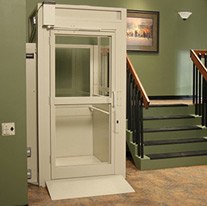 Enclosed Vertical Platform Lift