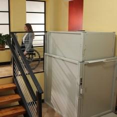 HighLights Enclosed Vertical Platform Lift
