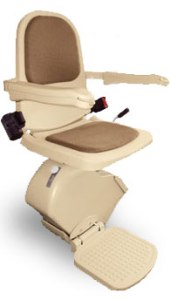Brooks Straight Stair Lift for Atlanta home or office