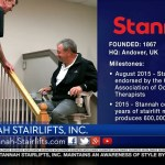 Stannah Stairlifts featured on Worldwide Enterprise with kathy eire®
