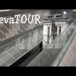 elevaTOUR of Cityplace DART rail station with Incline elevators