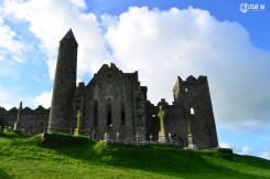 62018315 - clouds in the skies over the rock of cashel.