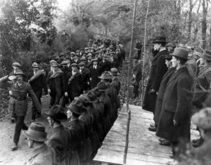 Dev-Inspects-1st-Western-Division-IRA-Truce-1921