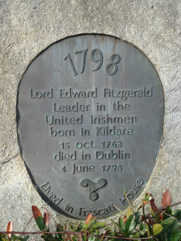 Lord_Edward_Fitzgerald_plaque_frescati