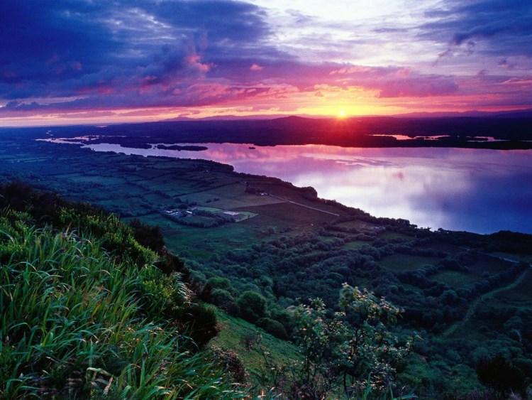 383960-nature-sunset-across-lower-lough-erne-loch-irne-fermanagh-ireland