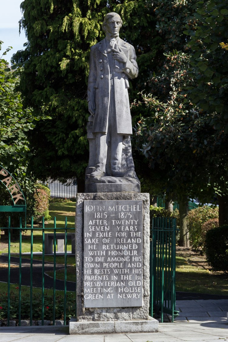 statue_of_john_mitchel_in_newry_northern_ireland