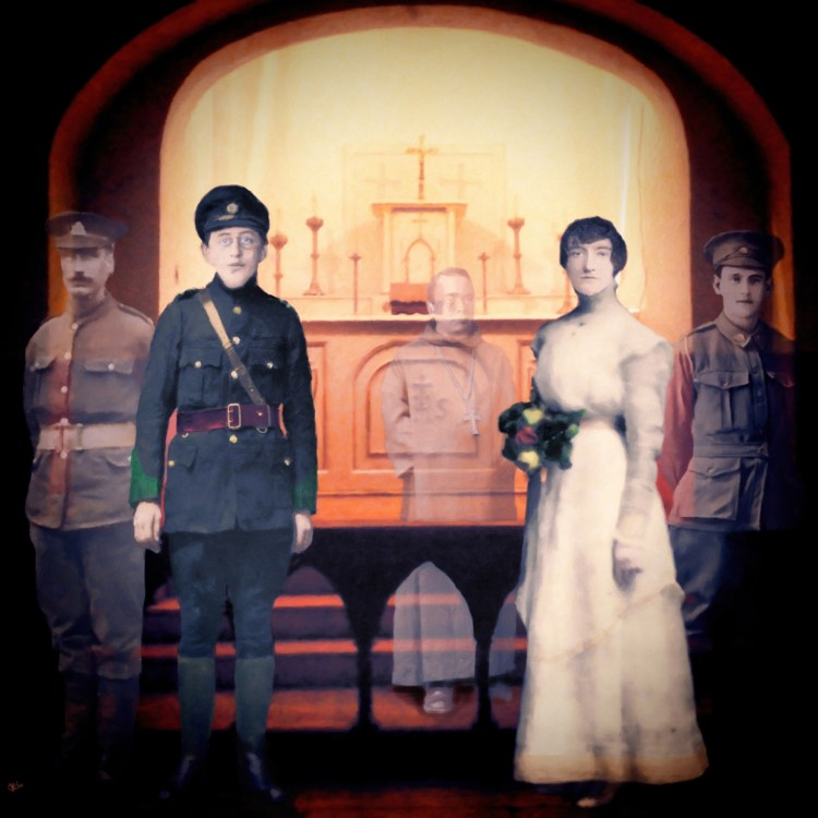 Otd In 1916 Joseph Mary Plunkett And Grace Gifford Are Married In