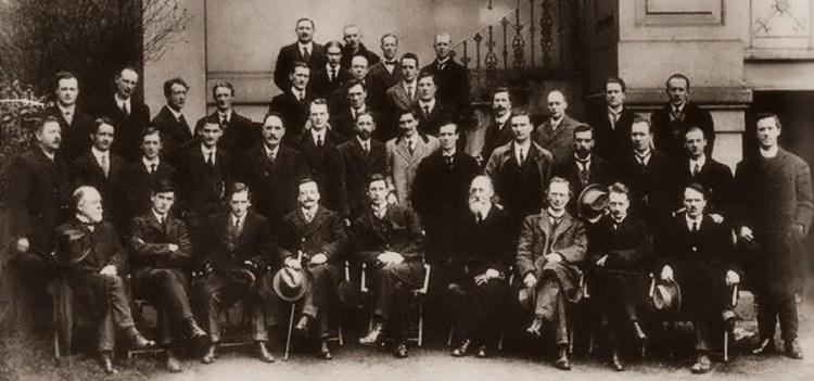 Sinn Fein Leaders at First Dail Eireann