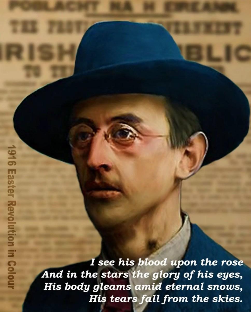 #OTD in 1887 – Birth of Irish patriot and poet, Joseph Mary Plunkett, in Dublin.