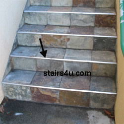 stair edging tread and step protection