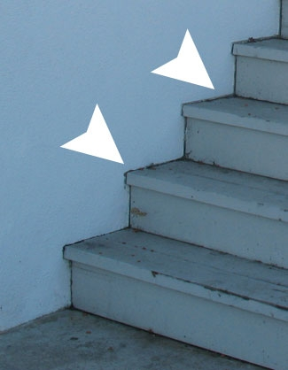 Exterior Wood Stair Problems   Exterior Wood Stair Treads   Anti Slip   90 Degree   Step   Solid Stringer   Deck