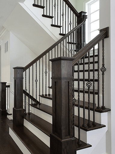 Homepage Stair Solution   Stair Railing Company Near Me   Stair Treads   Deck   Glass Railing   Stair Systems   Iron Balusters