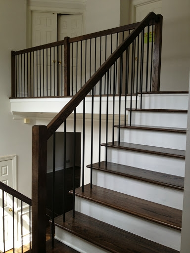 Iron Balusters Stair Solution Residential And   Modern Metal Stair Spindles