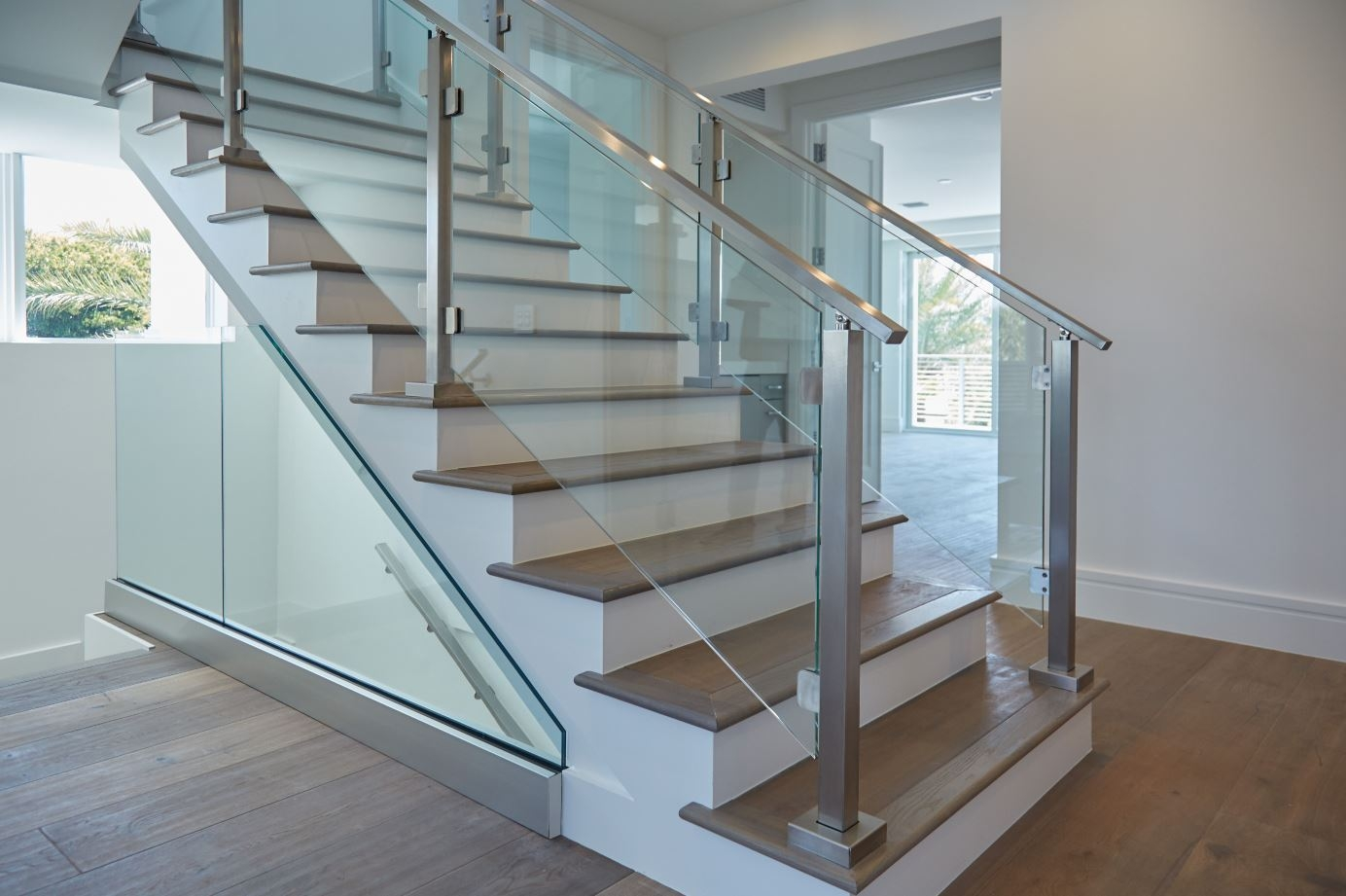 Modern Railing Systems In Wood Cable Wire Stainless Steel Glass   Staircase Railing Designs In Wood And Glass   Frosted Glass   Low Cost   Stair Handrail   Wooden   Solid Wood