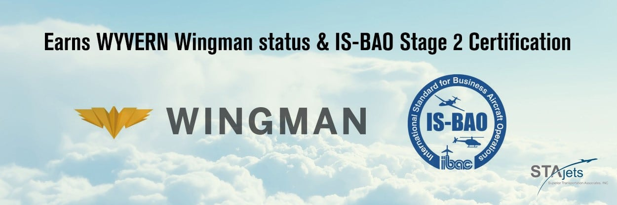 STAJETS Earns WYVERN Wingman status and IS-BAO Stage 2 Certification