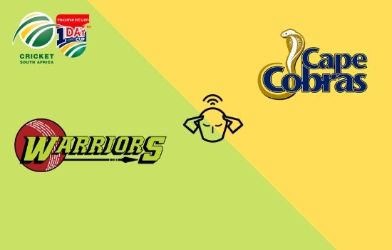 Cape Cobras vs Warriors, Momentum ODI Cup 2020, 3rd Match Prediction