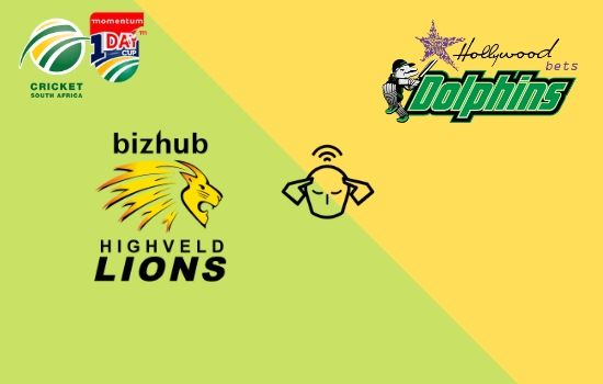 Dolphins vs Lions, Momentum ODI Cup 2020, 21st Match Prediction