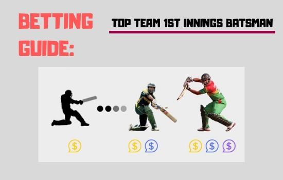 Top Team 1st Innings Batsman | Test Cricket Betting