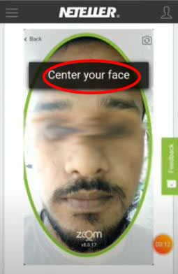 center your face