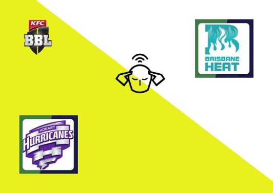 Brisbane Heat vs Hobart Hurricanes, Big Bash League 2020-21   16th T20 Match Prediction