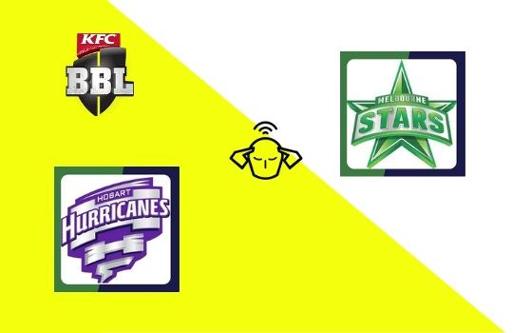 Hobart Hurricanes vs Melbourne Stars, Big Bash League 2020-21   23rd T20 Match Prediction
