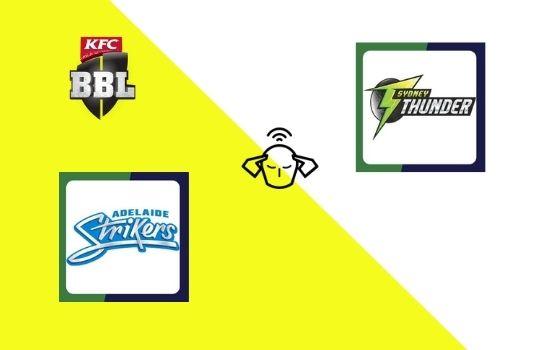 Adelaide Strikers vs Sydney Thunder, Big Bash League 2020-21 | 53rd T20 Match Prediction