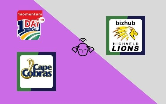 Cape Cobras vs Lions, Pool B, Momentum ODI Cup 2021, 7th Match Prediction