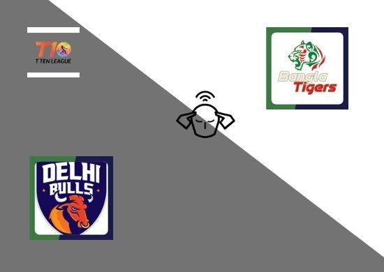 Delhi Bulls vs Bangla Tigers, Group A, T10 League 2021, 3rd Match Prediction