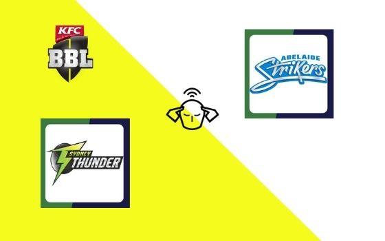 Sydney Thunder vs Adelaide Strikers, Big Bash League 2020-21 | 51st T20 Match Prediction