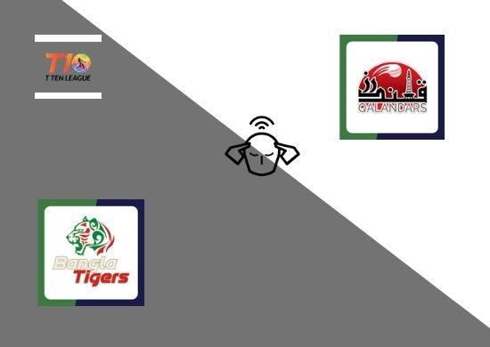 Bangla Tigers vs Qalandars, Super League, T10 League 2021, 19th Match Prediction