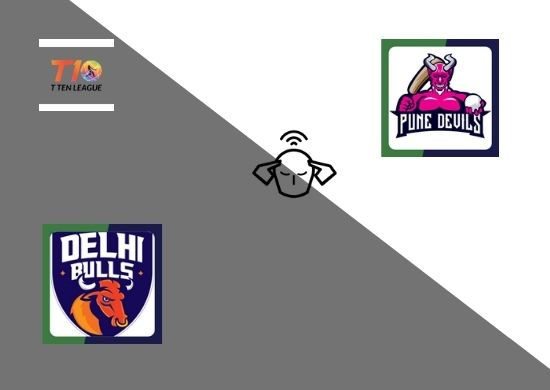 Delhi Bulls vs Pune Devils, Super League, T10 League 2021, 17th Match Prediction
