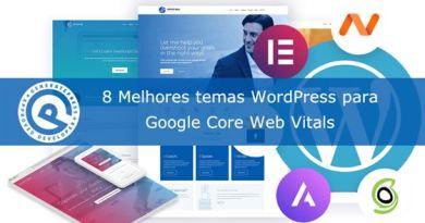 Melhores temas WordPress para Google Core Web Vitals GeneratePress