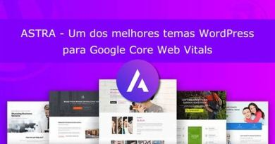 Review Tema Astra Core Web Vitals