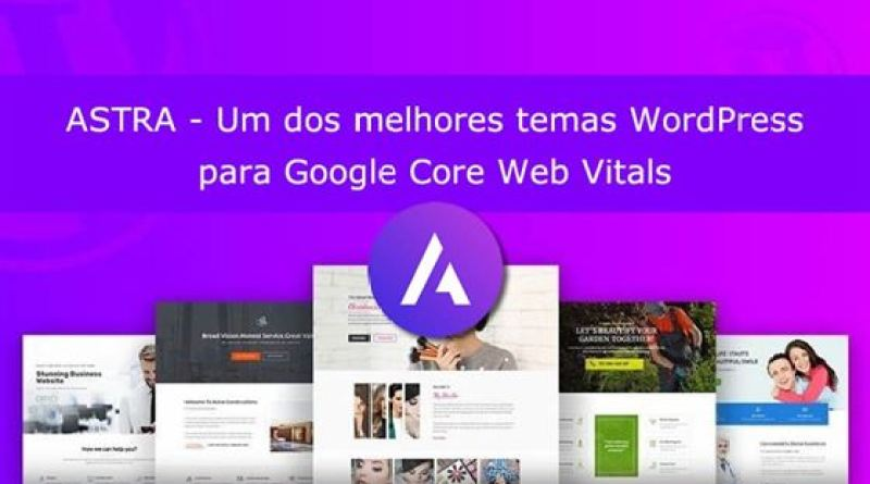 Review Tema Astra Core Web Vitals