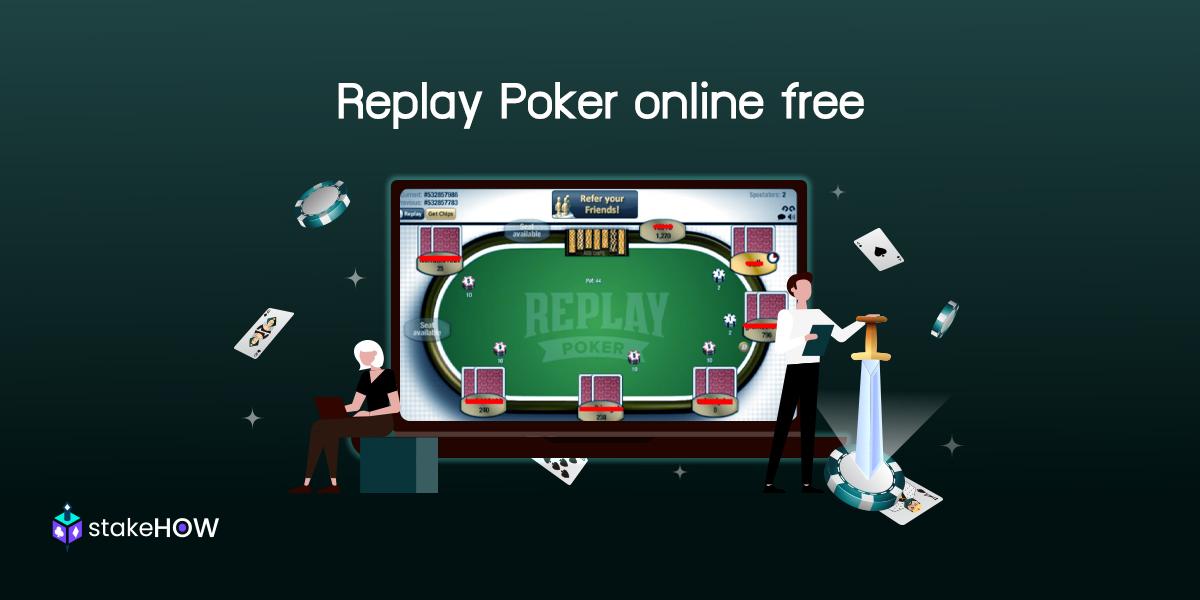 Replay Poker online free เว็บฝึกเล่นโป๊กเกอร์สุดเจ๋ง5 min read