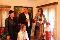 Emilia and Nelu Banu, Roxana Preda with her daughters Miruna and Maria