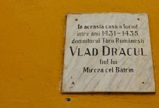 The house in Sighisoara where Vlad Tepes, Vlad III, Dracula, was born
