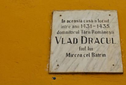 The house in Sighisoara where Vlad Tepes, Vlad III, Dracula, was born