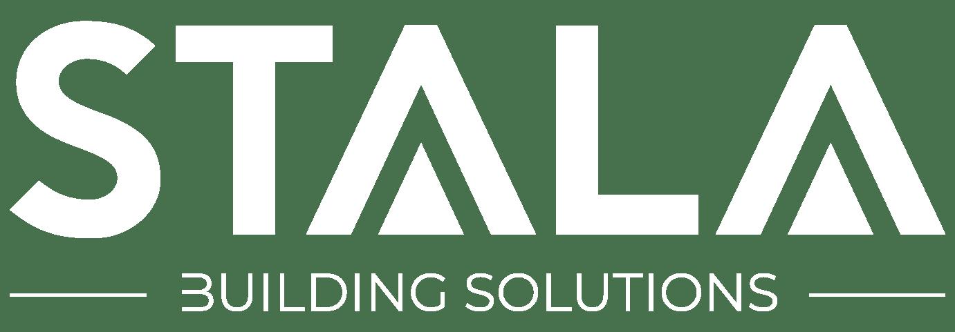 Stala Building Solutions White Logo