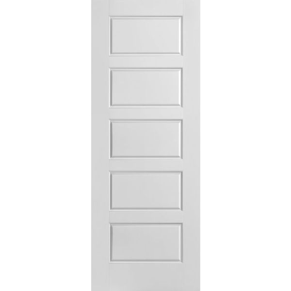 Riverside 5 panel moulded interior door
