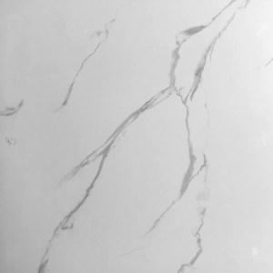 "24""x24"" white carrera marble tile"